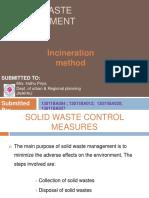 Solid Waste Incineration