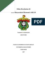 Etika Kesehatan Di Era Masyarakat Ekonomi ASEAN
