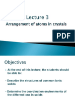 Lecture 3-Arrangement of Atoms in Crystals Ed16Nov17