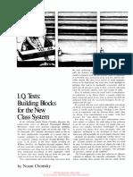 Chomsky - Iq Building Blocks New Class System