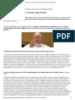 Conseils Aux « Jeunes Époux » de Notre Pape François - Site-Catholique