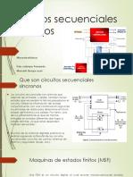 Circuitos secuenciales síncronos