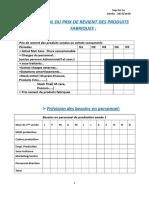 Tableaux Du Business Plan