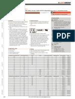 Cable Datasheet
