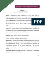 Ley Para La Prevención y El Tratamiento de Las Adicciones Del Estado de Quintana Roo.