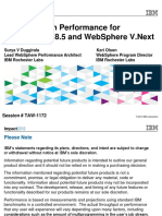 Impact2013_TAW-1172 - What's New in Performance for WebSphere V8.5 and WebSphere v.next