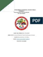 Carta de Presentacion Del Producto Comisariato