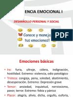 Sesión 9 Inteligencia Emocional i