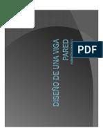 Diseño de Una Viga Pared May 2017