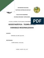 GEOESTADISTICA EJERCICIOS
