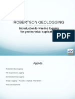 An Introduction to Wireline Logging for Geotechnical Applications