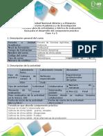 Guía Para El Dearrollo Del Componente Práctico - Fase 4 y 5