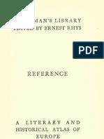 欧洲历史地图集 A Literary & Historical Atlas of Europe
