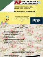 SEMINARIO 7 PARCIAL Alteraciones Intelectuales LISCETT Oficial