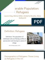 vulnerable populations  refugees