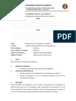 Clasificacion de Instrumentos de Medida