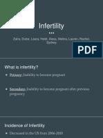 infertility presentation