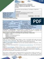 Guía de Actividades y Rúbrica de Evaluación - Tarea 4 - Campo Electromagnético