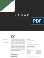 Portfolio- Md. Fahad Hossain