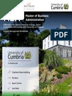 crack  the Northcumbria MBA