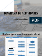 Diagrama de Actividades Order Clerk