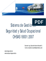 01-01 Sistemas de Gestión OHSAS 18001