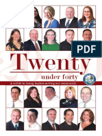 Chamber Business Magazine | 20 under 40 | July & August 2011