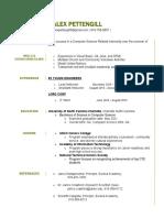 alex pettengill resume