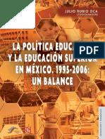 La politica educativa y la ES en Mexico - Rubio.pdf