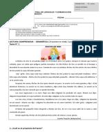 Examen 2 Basico Lenguaje