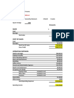 Abbracci Budget Costings Form