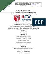 Informe de Investigacion Cultura Ambiental