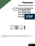 Projector Manual 4854