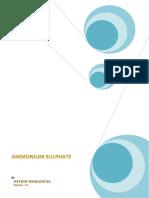 89479262 Ammonium Sulphate Modified
