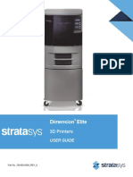 User Guide Strarasys -  Dimension Elite - 3D printer