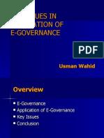 E-Governance Basics continued