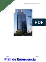 Ejemplo Plan de Emergencias Edificio