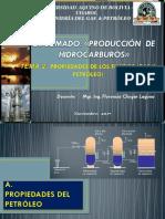 Tema 2a- Propiedades de Los Fluidos Petróleo y Gas - Udabol