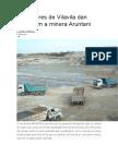 Pobladores de Vilavila Dan Ultimátum a Minera Aruntani