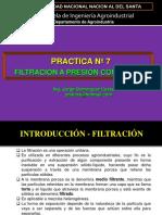 Lab. 7. Filtración