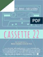 Libro de producción Cassette 22