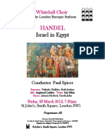 Israel in Egypt (G. F. Handel)