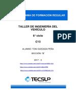 Taller 1 de Ingeniería Del Vehículo