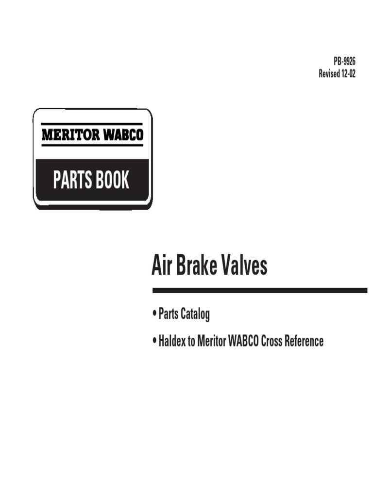 "HALDEX RKN31200 AIR BRAKE Reservoir 150 psi Pressure Relief Valve 1//4/"" NPT WABCO"