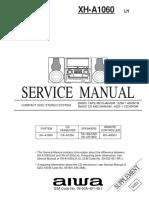 Manual Aiwa 1060