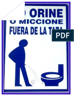 baños limpios