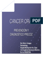 Cancer Oral Poblacion