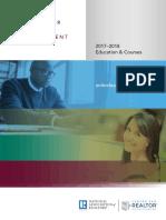 2017 Center for Realtor Development Catalog 11-28-2017