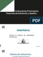 Anális Ind Finan Solvencia y Gestión