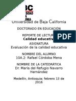 La Evaluación Educativa de Los Estudiantes y Las Evaluaciones Estandarizadas